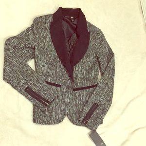 NWT Tweed Mossimo Blazer